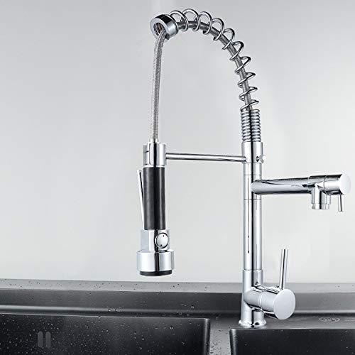 XGQ KE6024 Multifuncional Dibujo Cold Spring Caliente Combinación de filtros de Agua Boquilla de Agua Adaptador Purificador de Agua Ahorro de Toque