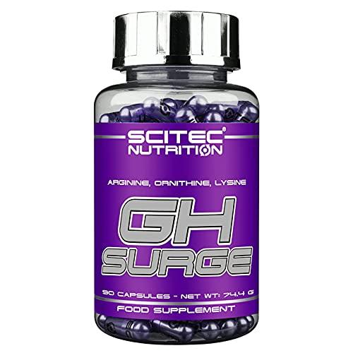 SURGE   Refuerzo de óxido nítrico   Suplemento alimenticio para el crecimiento y la bomba de masa muscular   Aminoácidos: Arginina Ornitina Lisina (90 Cápsulas)