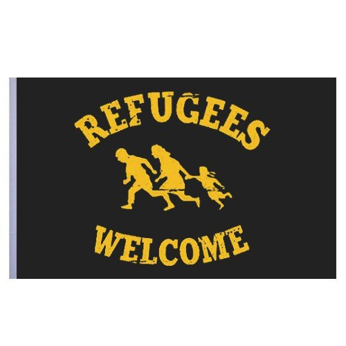 Impact-Mailorder Refugees Welcome Flagge
