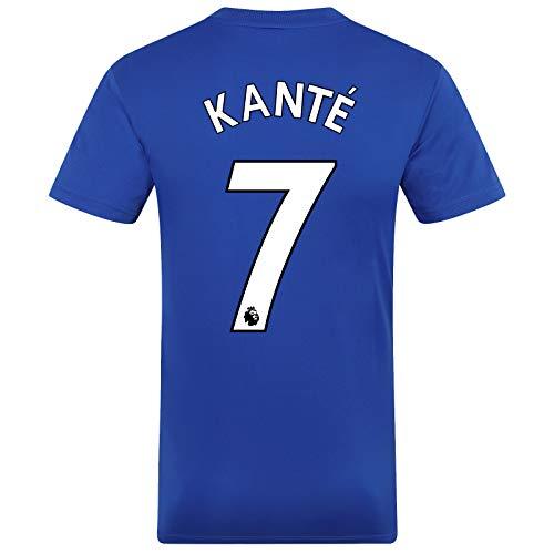 Chelsea FC - Herren Trainingstrikot - Offizielles Merchandise - Royalblau mit weißem Streifen - Kante 7 - XL