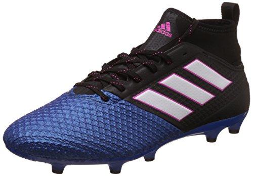 adidas Herren Ace 1 7 .3 Primemesh Fg Fußballschuhe, Schwarz (Core Black / Ftwr White / Blue), 45 1/3 EU