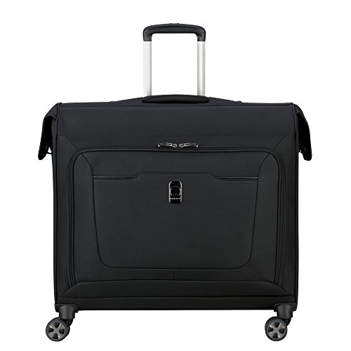 DELSEY Paris Hyperglide Softside Garment Travel Bag with Spinner Wheels, Black, One Size