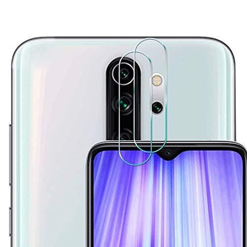 [2 Pack] Cristal Templado para Lente Cámara de Xiaomi Redmi Note 8 Pro, Ultra Fino Protector 2.5D 9H de Dureza Cámara Trasera Lente Película de Pantalla