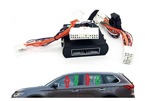 XIAOFANG Fangxia Store Ventana más Cerca de la Apertura de Vidrio/Cierre automático de un Solo botón Ajuste automáticamente para Mitsubishi LHD Outlander ASX 2013+ (Color : Outlander 2013 2018)