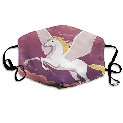 N/C Pegasus Sternbild Himmel Vogel Staub waschbar wiederverwendbar Mund warm winddicht Gesicht für Männer Frauen Outdoor Schutz personalisierbar