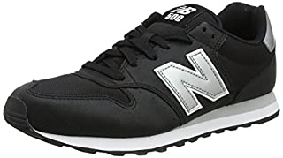 New Balance 500, Scarpe Sportive Uomo, Nero (Black/Silver), 44 EU (B0784GWNCJ) | Amazon price tracker / tracking, Amazon price history charts, Amazon price watches, Amazon price drop alerts