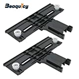 W10350376 Dishwasher Top Rack Adjuster by Beaquicy - Replacement for Whirlpool KitchenAid Kenmore Jenn-Air for 2 Pack Set