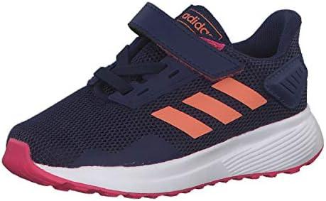 Adidas Duramo 9 I, Zapatillas de Estar por casa Unisex niños, Multicolor (Azuosc/Semcor/Rosrea 000), 21 EU