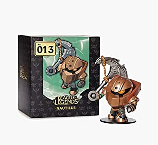 PVC Action figure League of Legend Figure - 2016 New Game Nautilus Hecarim Ekko Collectible Model Toy in Stock (Nautilus)
