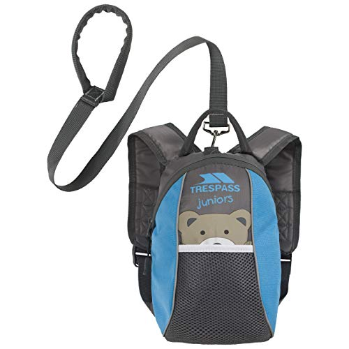 Kinderbackpack mit Laufgurt - Blau