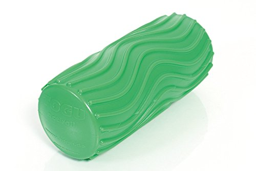 Togu Unisex– Erwachsene Acritoll Wave S Faszienrolle, grün, 14,5 cm Länge, ca. 6,5 cm Ø