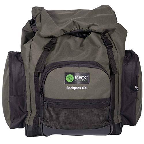Zeck Backpack XXL 55x40x55cm- Angelrucksack für Tackle & Köder, Rucksack für Wallerangler & Spinnangler, Tackletasche, Angeltasche