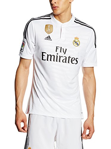 adidas Performance World Cup Real Madrid Home JSY Maillot de Football Jersey Homme Blanc Climacool T:M