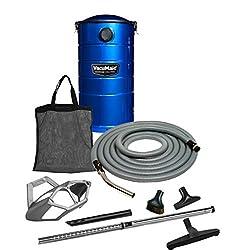 VacuMaid Professional Wall Mounted Garage Vacuum