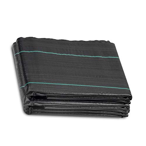 ANSIO Weed Control Membrane Fabric Landscape Ground cover, UV stabilised 1M...