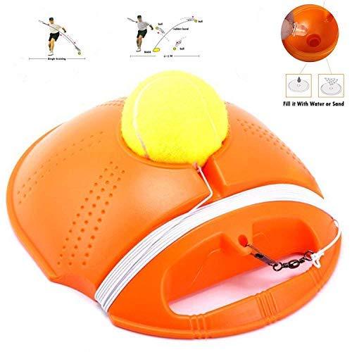 WYFC Tennis Trainer Power Base Rebond Ball Solo Équipement Pratique pour Les Enfants Raquette Jeu Hopper Kit