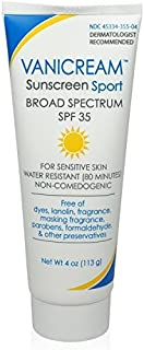 Vanicream Sunscreen Sport, Spf 35, 4-ounce by Vanicream