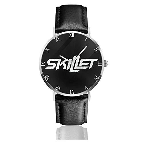 Relojes Anolog Negocio Cuarzo Cuero de PU Amable Relojes de Pulsera Wrist...