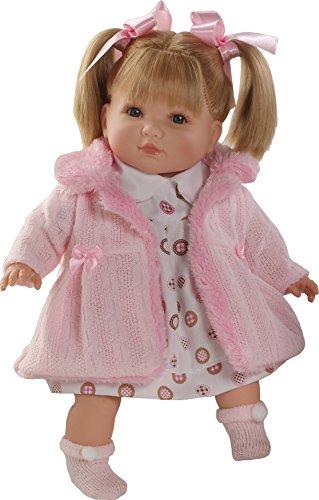 Munecas Berbesa 4407 - Bambola Sandra, 40 cm