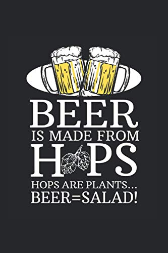 Kalender 2021: Bier Salat Gemüse Hopfen Malz Gesund Witz Geschenk 120 Seiten, 6X9 (Ca. A5), Jahres-, Monats-, Wochen- & Tages-Planer