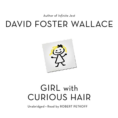 Girl with Curious Hair audiobook cover art