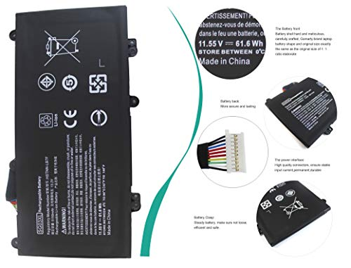 Gomarty SG03XL Laptop Battery Compatible for HP Envy M7 M7-U000 M7-U009DX M7-U109DX 17-U000 17t-U000 Series 17-U011NR 17…
