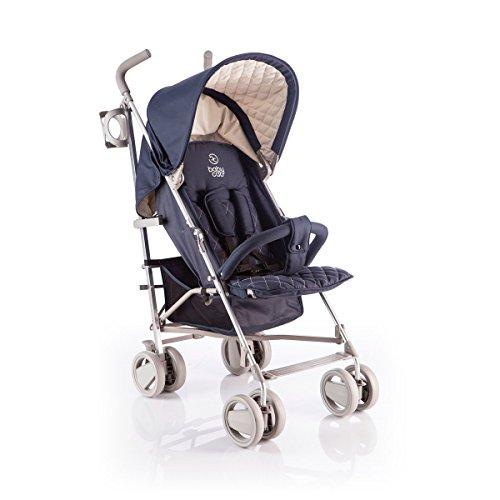 babycab Buggy David mit Liegefunktion - Kinderwagen mit dynamischer Radkonstruktion - Schlafwagen in sportlichem Design - für Babys ab 6 Monate