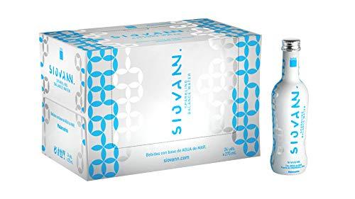 Siovann | Bebida refrescante con gas y con agua de mar | Enriquecida con Zinc y Magnesio | Pack 24 botellas x 275 ml. Vidrio