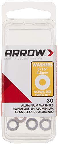 Arrow Fastener WA3/16 Aluminum Washers