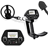 DeeAWai Classic Metal Detector - Entry Level All Metal Metal Detector with 8' Waterproof Search Coil...