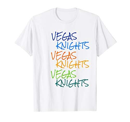 Vegas Knights VGK Colorful Rainbow Unisex/Youth T-Shirt T-Shirt