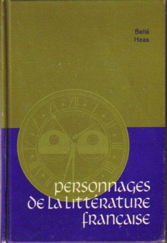 Personnages de la Littérature Française