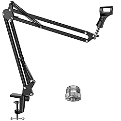 InnoGear Upgraded Boom Microphone Suspension Stand - Best Boom Microphone Stands