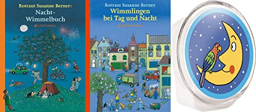 Wimmlingen bei Nacht 2 Bücher + 1 Nachtlicht im Set plus 1 exklusives Postkartenset