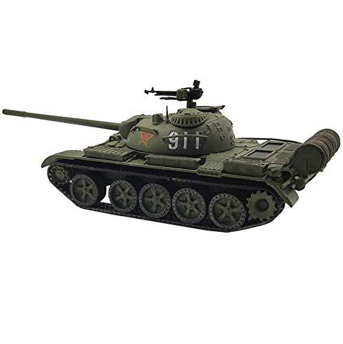 LHJCN Modello in plastica di carro Armato pressofuso in Scala 1/72, carro Armato M-59 della seconda Guerra Mondiale, Giocattoli e Regali Militari