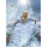Riou DIY 5D Diamant Painting Voll,Diamant Malerei Crystal Strass Muster Bilder Handwerk Stickerei Kreuzstic für Home Wall Decor Gemälde (E, 30x40cm)