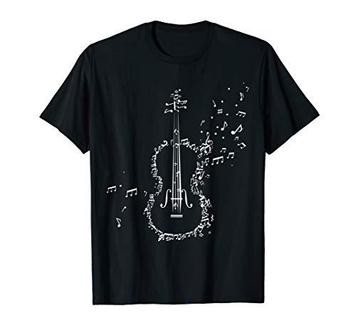 Violine & Geige Musik Noten Musiker Geschenk T-Shirt