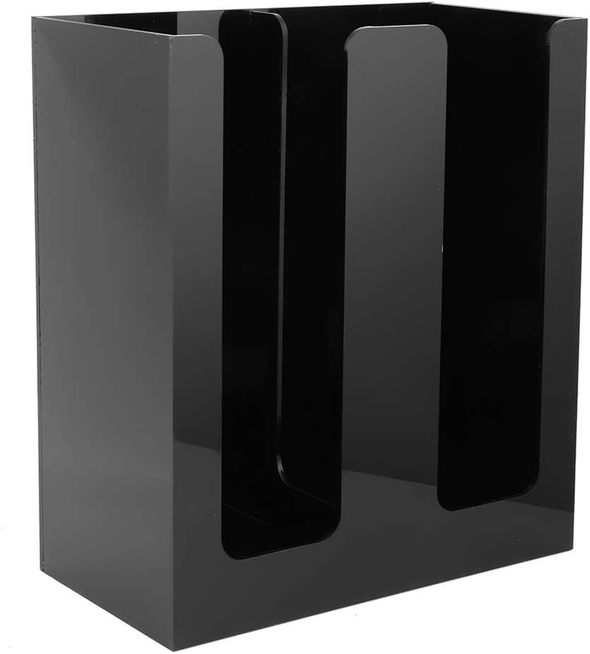 Elegant Coffee Cup Holder Multipurpose Prof Import Dispenser Plastic Black