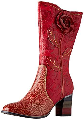 Laura Vita Damen GECEKO 05 Hohe Stiefel, Rot (Rouge Rouge), 41 EU