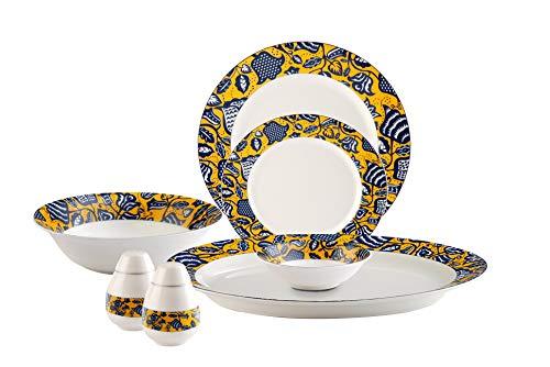 Hitkari Potteries Porcelain Dinner Set
