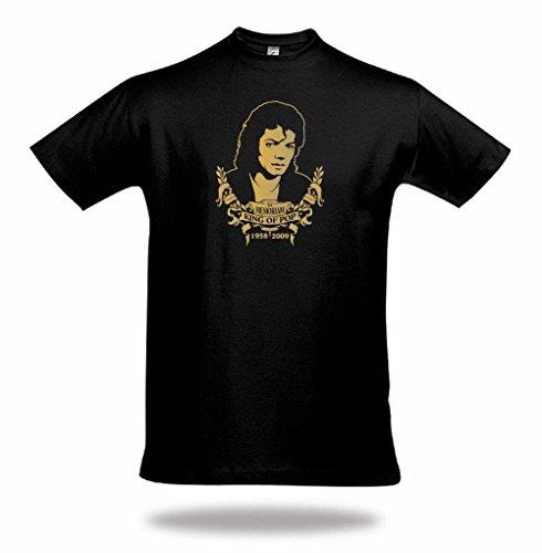 WIZUALS Michael Jackson in Memoriam Designer gedenkte T-shirt