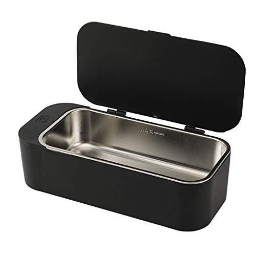 CYHT Ultraschallreiniger, 450 ml Ultraschallbad, 42khz Professionelle Maschine für Reinigung Brillen Ringe Uhren Halsketten Rasierer Werkzeuge, Rosa