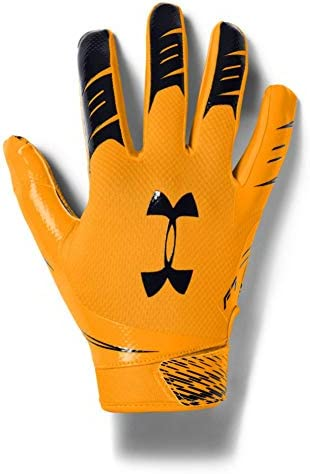 Under Armour Men s F7 Football Gloves Steeltown Gold 750 Black X Large product image