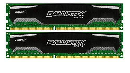 Crucial Ballistix 16 GB (2x8GB) BLS8G3D1609DS1S00.16FER DDR3 PC3-12800#117253