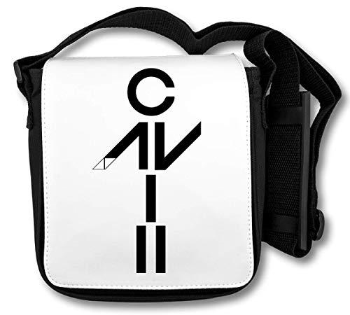 Avicii Dj Dancing Logo Graphic Schultertasche
