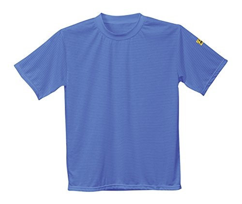 PORTWEST antistatik, ESD T-Shirt, 1 Stück, L, Hellblau, AS20HBRL