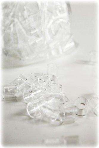 andere Hersteller 'Hecht' Raschigringe aus Glas, 8mm, 100 Gramm
