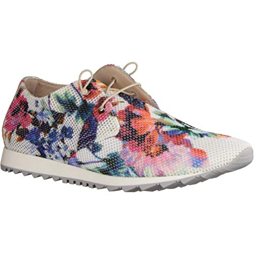 Donna Carolina 37.763.041 Gotik Multi - Schnürschuh - Damenschuhe Sneaker, Mehrfarbig, Leder/Textil