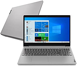 "Notebook Lenovo IdeaPad 3i, Intel Core i3-10110U, 4GB RAM, 256 GB SSD, Windows 10, 15.6"", Prata"