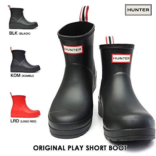 [ハンター]長靴WFS2020RMAレディースオリジナルプレイショートブーツアンクル丈ラバーオールシーズンORIGINALPLAYBOOTSHORTBLK(Black)UK3(22.0cm)